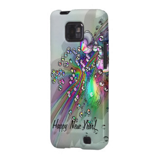 Popping the Cork - New Year Bubbles Samsung Galaxy S Case