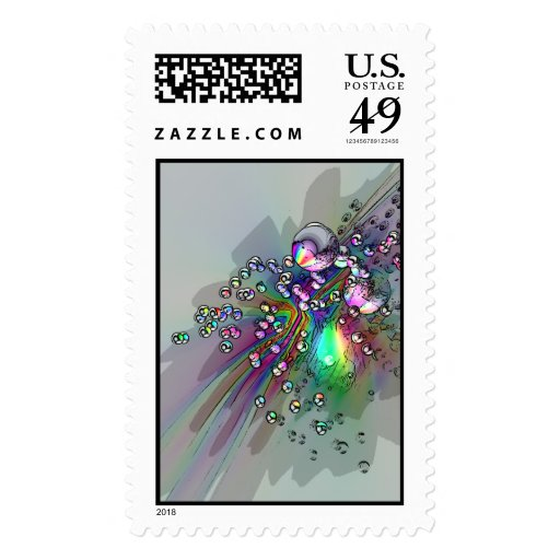 Popping the Cork - New Year Bubbles Stamps