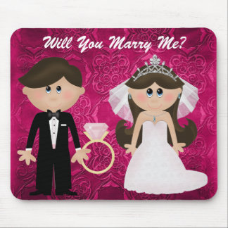 Popping The Question  Mousepad