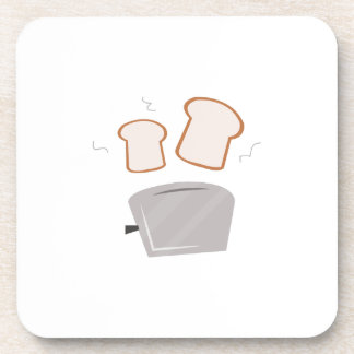Popping Toast Drink Coasters