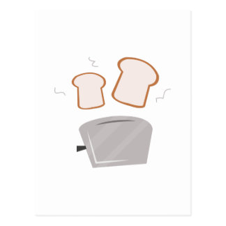 Popping Toast Postcard