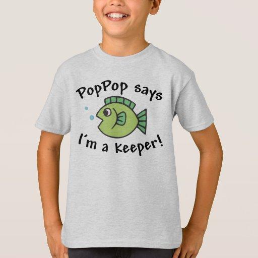 ¡PopPop dice que soy encargado! Poleras