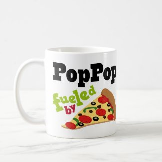Poppop (Funny) Pizza Mug