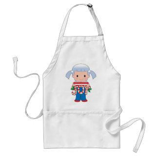 Poppy American Christmas Adult Apron
