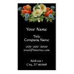 Poppy and Cornflowers Floral Art Business Cards