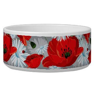 poppy and daisy dog water bowls