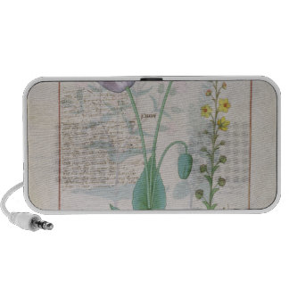 Poppy and Figwort Travel Speaker