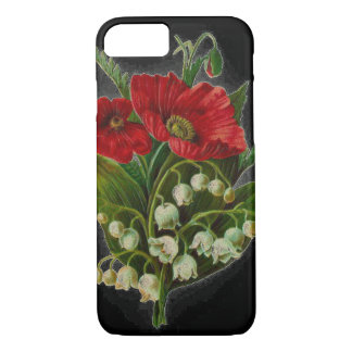 """""""Poppy and Lily Of The Valley"""" Cell Phone Case"""