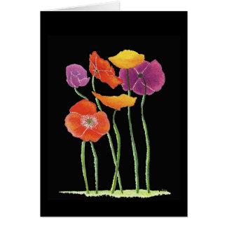 Poppy Anniversary Card