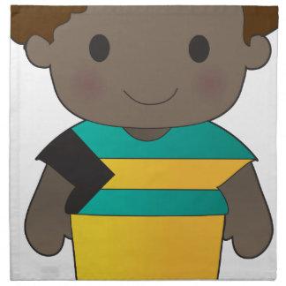 Poppy Bahamas Boy Cloth Napkins