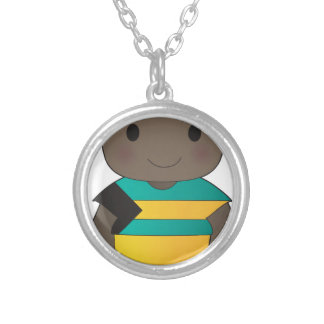 Poppy Bahamas Boy Personalized Necklace