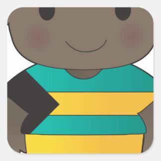 Poppy Bahamas Boy Sticker
