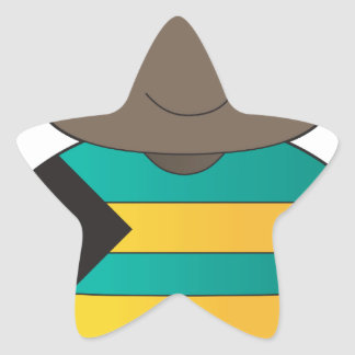Poppy Bahamas Boy Star Stickers