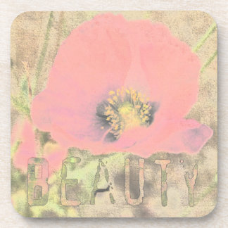 Poppy Beauty Coaster Set