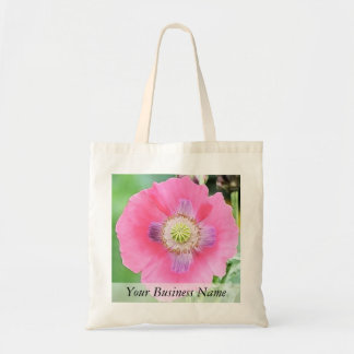 Poppy Bloom - Papaver Somniferum Canvas Bags