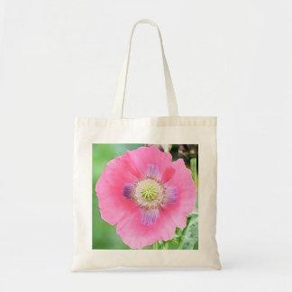 Poppy Bloom - Papaver Somniferum Budget Tote Bag