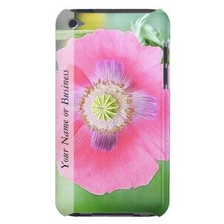 Poppy Bloom - Papaver Somniferum iPod Touch Case-Mate Case
