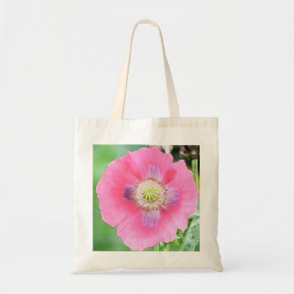 Poppy Bloom - Papaver Somniferum Tote Bag