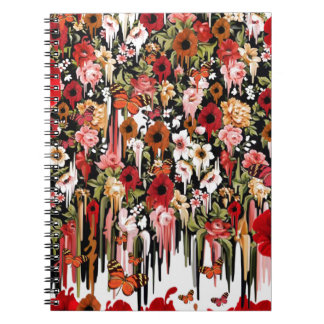 Poppy Breeze Spiral Notebook