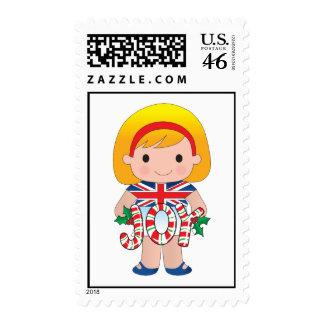 Poppy Bristish Britain Postage Stamp