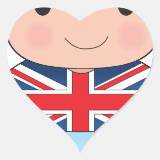Poppy British Boy Sticker