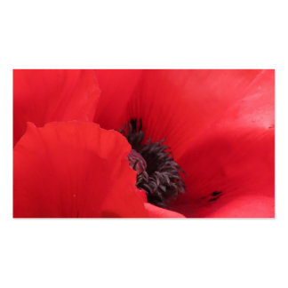 POPPY BUSINESS CARD TEMPLATE