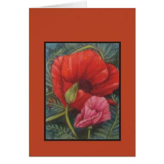 poppy card #2