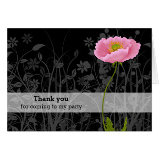 Poppy * choose background color card