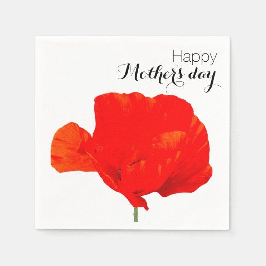 POPPY Collection 06 Mother's day Paper Napkins