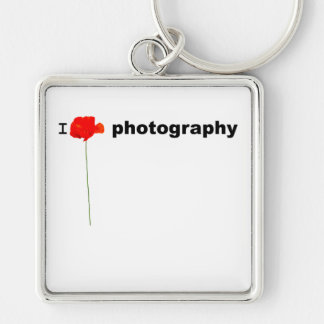 POPPY Collection I Love Photography Keychain