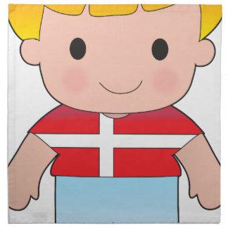 Poppy Denmark Boy Printed Napkin