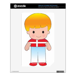 Poppy Denmark Boy NOOK Color Skin