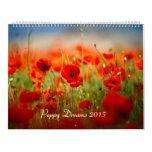 Poppy Dreams 2015 Wall Calendars