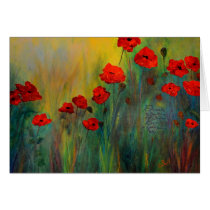 Poppy Dreams Art Card