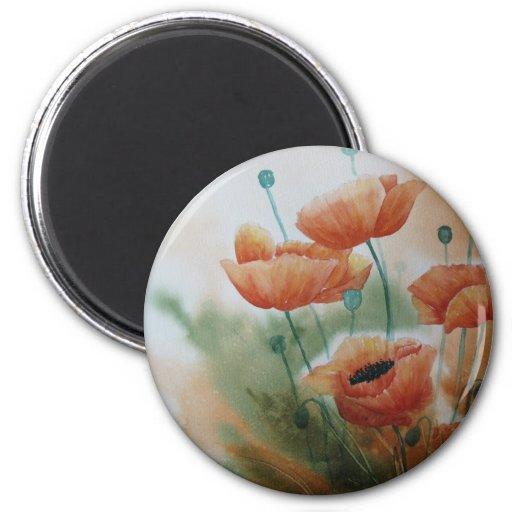 Poppy Dreams Fridge Magnets