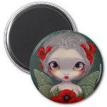 """""""Poppy Fairy"""" Magnet"""