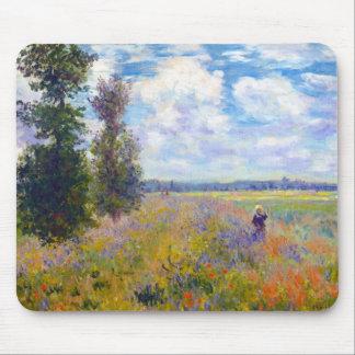 Poppy Field, Argenteuil, 1875 Claude Monet Mouse Pad