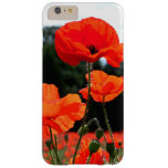 Poppy Field Barely There iPhone 6 Plus Case