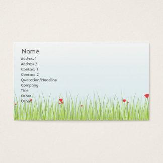 Poppy Field - Business Business Card