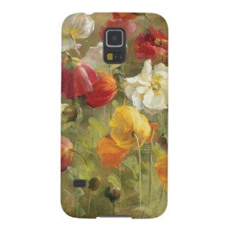Poppy Field Case For Galaxy S5