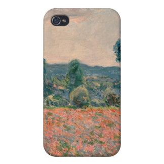 Poppy Field - Claude Monet iPhone 4/4S Covers