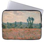 Poppy Field - Claude Monet Laptop Computer Sleeve