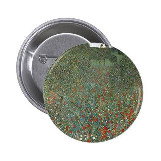 Poppy Field cool Pinback Button