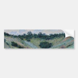 Poppy Field in a Hollow Near Giverny by Monet Bumper Stickers