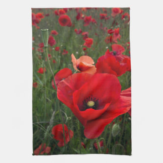 Poppy Field Kitchen Towel Tea Towel