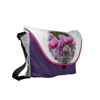 Poppy Field Messenger Bag