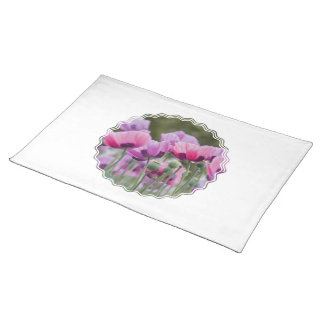 Poppy Field Placemat Cloth Placemat
