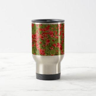 Poppy field - Stunning! 15 Oz Stainless Steel Travel Mug