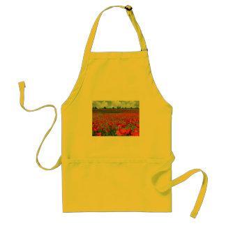 Poppy Fields Adult Apron