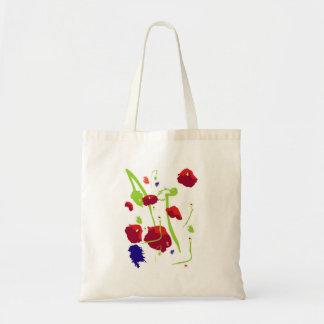 Poppy fields bag